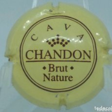 Coleccionismo de cava: PLACA DE CAVA CHANDON BRUT NATURE. Lote 173642504