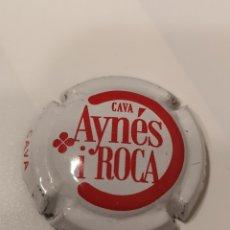 Coleccionismo de cava: B13. 5. PLACA DE CAVA. AYNES I ROCA. Lote 173833963