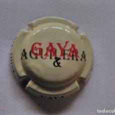 Coleccionismo de cava: PLACA DE CAVA GAYA. Lote 174026772