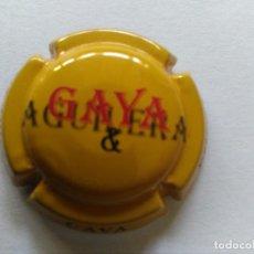 Coleccionismo de cava: PLACA DE CAVA GAYA. Lote 174026814