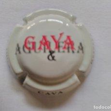 Coleccionismo de cava: PLACA DE CAVA GAYA. Lote 174026857