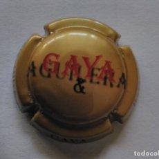 Coleccionismo de cava: PLACA DE CAVA GAYA. Lote 174026904