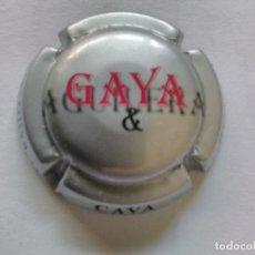 Coleccionismo de cava: PLACA DE CAVA GAYA. Lote 174026947
