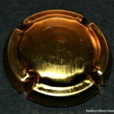 Coleccionismo de cava: PLACA DE CAVA - SIN IDENTIFICAR - TOTALMENTE DORADA. Lote 174031380