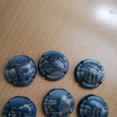 Coleccionismo de cava: 6 PLACAS DE CAVA JAUME SERRA. Lote 174258235