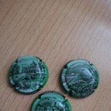 Coleccionismo de cava: 3 PLACAS DE CAVA JAUME SERRA. Lote 174258304