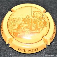 Coleccionismo de cava: PLACA DE CAVA - DEL PUIG - CAVA RESERVA - BRUT NATURE. Lote 174346539