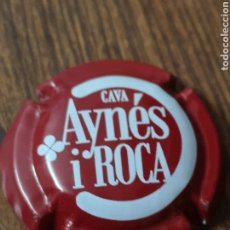 Coleccionismo de cava: B19. 35. PLACA DE CAVA. AYNES I ROCA. 49147. Lote 174446965