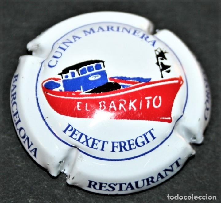 PLACA DE CAVA - PIRULA - EL BARKITO RESTAURANT (Coleccionismo - Botellas y Bebidas - Cava)
