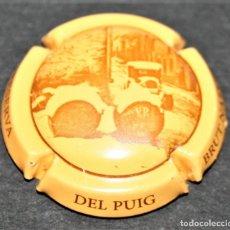 Coleccionismo de cava: PLACA DE CAVA - DEL PUIG - BRUT NATURE CAVA RESERVA. Lote 174534240