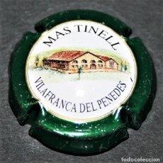 Coleccionismo de cava: PLACA DE CAVA - MAS TINELL - VILAFRANCA DEL PENEDÈS. Lote 174534793