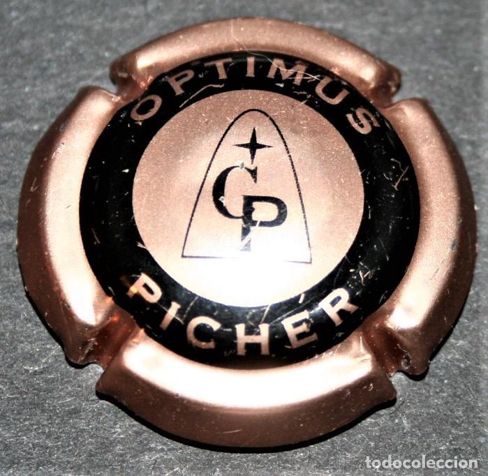 PLACA DE CAVA - PICHER - OPTIMUS (Coleccionismo - Botellas y Bebidas - Cava)