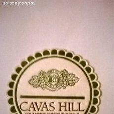 Coleccionismo de cava: POSAVASO CAVAS HILL. Lote 174541258