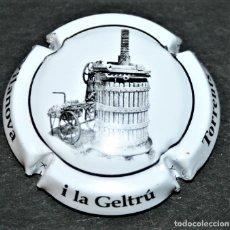 Coleccionismo de cava: PLACA DE CAVA - TORRENTS - VILANOVA I LA GELTRÚ - TORRENTS I CARBÓ. Lote 174575470