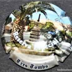 Coleccionismo de cava: PLACA DE CAVA - TRES TOMBS - RESERVA ESPECIAL - 1960-2011. Lote 174575992