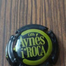 Coleccionismo de cava: B24. 031. PLACA DE CAVA. AYNES I ROCA. 52330. Lote 175267738