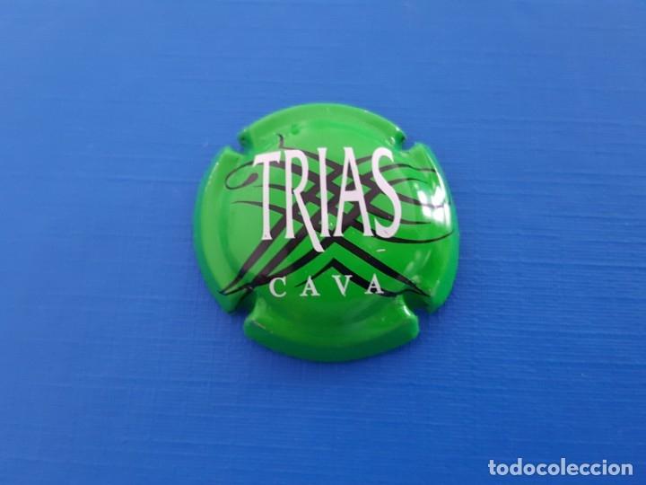 CHAPA DE CAVA TRIAS VIADER 7463 (Coleccionismo - Botellas y Bebidas - Cava)