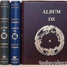 Coleccionismo de cava: ALBUM INTERCANVI CON 5 HOJAS DE BURBUJAS TRANSPARENTES.. Lote 176274435