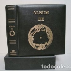 Coleccionismo de cava: ALBUM BBB* PARA PLACAS CAVA LUXE CON 5 HOJAS GRAN LUXE CON SOLAPA.VERDE.CON CAJETÍN.. Lote 176642167