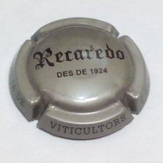 Coleccionismo de cava: PLACA CAVA RECADERO. Lote 177742505