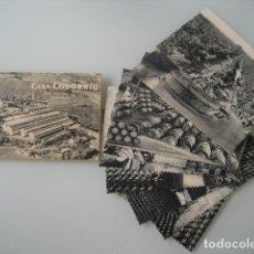 Coleccionismo de cava: 10 POSTALES CASA CODORNIU SAN SADURNI DE NOYA. Lote 179097781