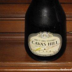 Coleccionismo de cava: BOTELLA DE CAVA BRUT BRUTISIMO CAVAS HILL GRAN RESERVA AÑADA 1997 750 CC -SIN ABRIR. Lote 179139000