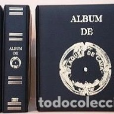 Coleccionismo de cava: ALBUM INTERCANVI CON 10 HOJAS DE BURBUJAS TRANSPARENTES.. Lote 180443782