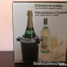 Coleccionismo de cava: ENFRIADOR DE BOTELLAS 4 ELEMENTOS PARA CONGELAR. Lote 181614438