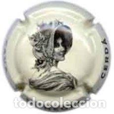 Coleccionismo de cava: PLACA DE CAVA - MONEGAL CERDÀ - Nº VIADER 4967 COLOR CREMA. Lote 288697568