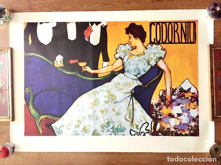 LOTE 3 CARTELES CAVA CODORNIU REPRODUCIONES 1898 AÑOS 90 CON SU EMBALAJE ORIGINAL (Coleccionismo - Botellas y Bebidas - Cava)