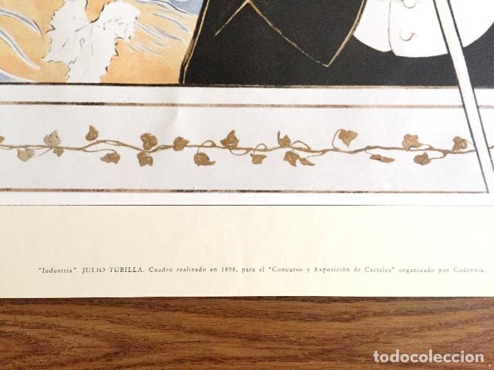 Coleccionismo de cava: lote 3 carteles cava Codorniu reproduciones 1898 años 90 con su embalaje original - Foto 7 - 182489266