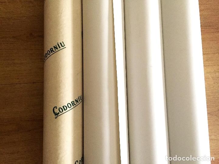 Coleccionismo de cava: lote 3 carteles cava Codorniu reproduciones 1898 años 90 con su embalaje original - Foto 13 - 182489266