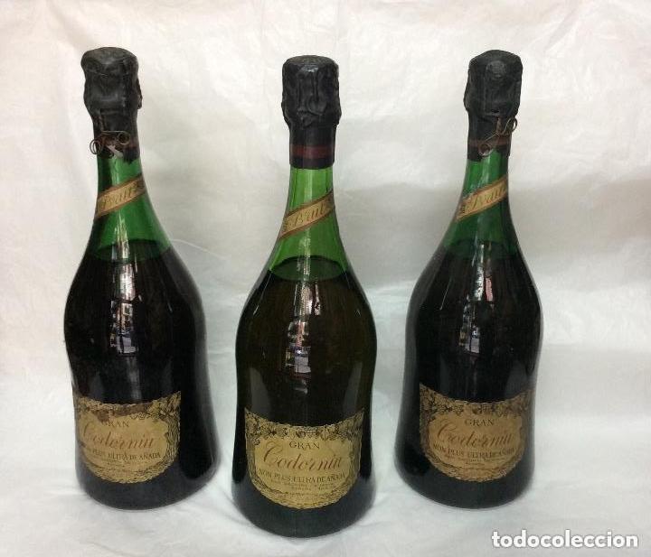 BOTELLAS GRAN CODORNIU NON PLUS ULTRA EXTRA DE AÑADA (Coleccionismo - Botellas y Bebidas - Cava)