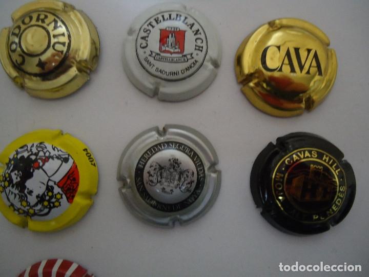 Coleccionismo de cava: COLECCION DE 45 CHAPAS DE CAVA DIFERENTES. --- 6 - Foto 9 - 183324792