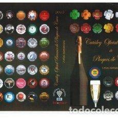 Coleccionismo de cava: CATÀLEC OFICIAL BEUMER, PLAQUES DE CAVA. ED.2015. MÁS DE 34000 PLACAS.. Lote 183403052