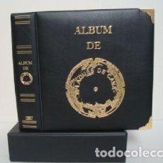 Coleccionismo de cava: ALBUM PLACAS CAVA LUXE CON 5 HOJAS.NEGRO.. Lote 183406005