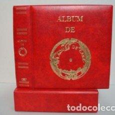 Coleccionismo de cava: ALBUM PLACAS CAVA LUXE CON 5 HOJAS.ROJO.. Lote 183406087