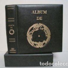 Coleccionismo de cava: ALBUM PLACAS CAVA LUXE CON 5 HOJAS.VERDE.. Lote 183406205