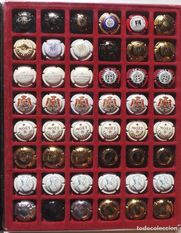 Coleccionismo de cava: LOTE DE CHAPAS. PLACAS DE CAVA. CAMPÁN. SE VENDE TODO LO DE LA FOTOGRAFÍA. - Foto 4 - 183464803