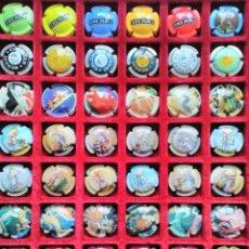 Coleccionismo de cava: 48 PLACAS DE CAVA PIRULAS RBA. Lote 184362501