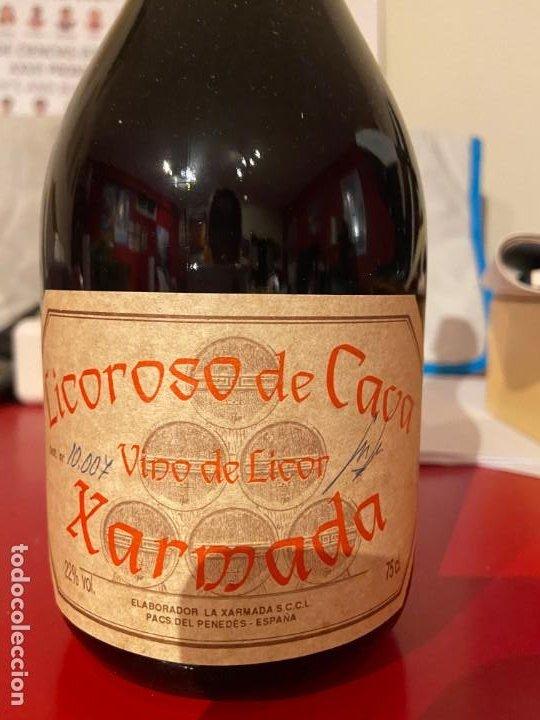 LICOROSO DE CAVA XARMADA (Coleccionismo - Botellas y Bebidas - Cava)