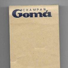 Coleccionismo de cava: BLOC DE NOTAS ** CHAMPANG GOMA ** MOLLET DEL VALLES ¡ DE BUENA CAVA, MEJOR CHAMPAN !. Lote 190929626