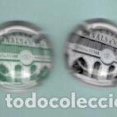 Coleccionismo de cava: DOS CHAPAS DE CAVA DE CASA CANALS DE MUNNE. Lote 194130678