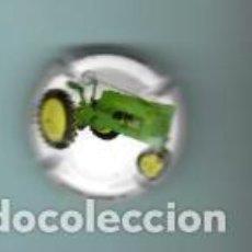 Coleccionismo de cava: CHAPA DE CAVA CASA JOAN SARDA TRACTORES . Lote 194986651