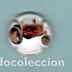 Coleccionismo de cava: CHAPA DE CAVA CASA JOAN SARDA TRACTORES . Lote 194986658
