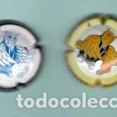 Coleccionismo de cava: DOS PLACAS DE CAVA PIRULAS DE 2009 Y 2011TROBADA DE BASQUET REUS. Lote 195361827