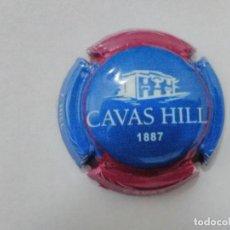 Coleccionismo de cava: PLACA DE CAVA CAVAS HILL Nº 105723. Lote 197121555