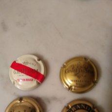 Coleccionismo de cava: CHAPAS DE CAVA ,4 UNIDADES.. Lote 198364976