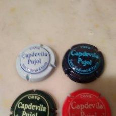 Coleccionismo de cava: CHAPAS DE CAVA ,4 UNIDADES.. Lote 198366960