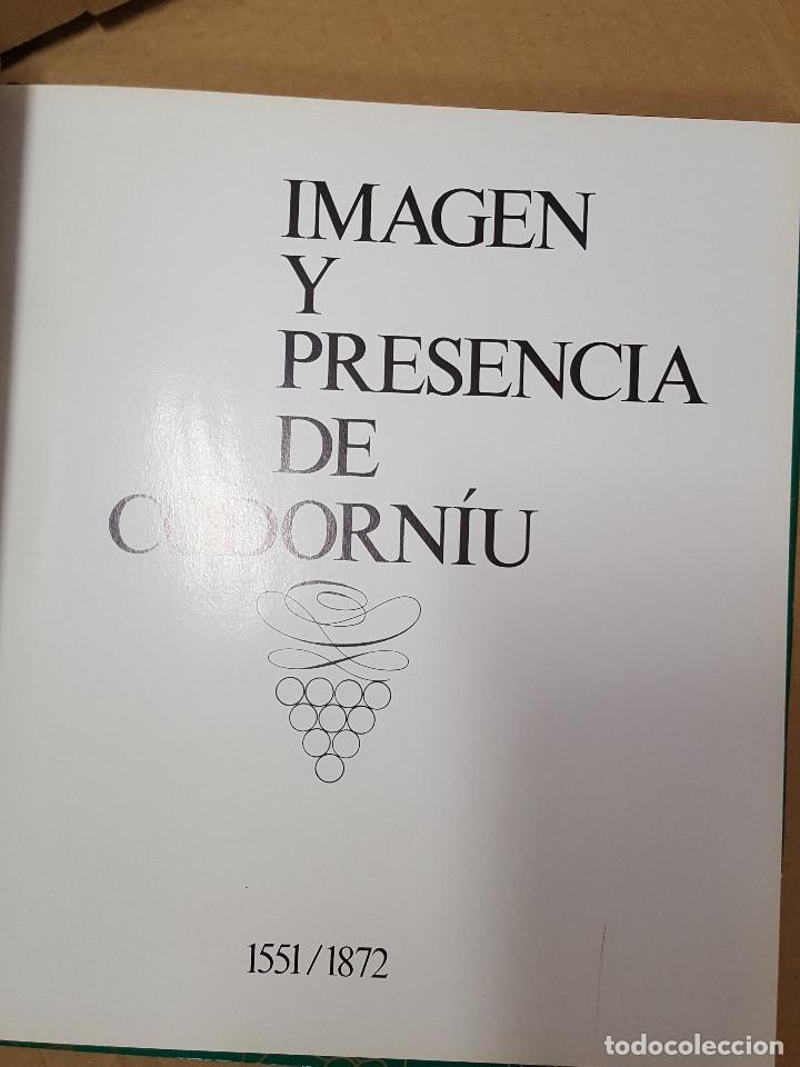Coleccionismo de cava: LIBRO / IMAGEN Y PRESENCIA DE CODORNIU 1551/1872 - Foto 2 - 199985125
